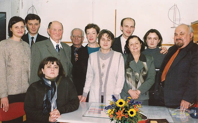 Staff of the department 2001